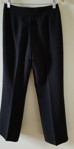 Black dress pants wide legs